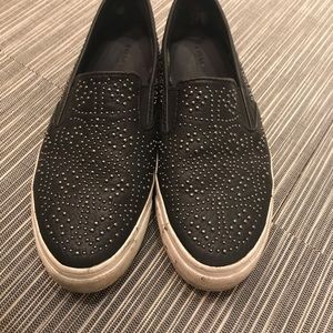 Coach Maisy Studded Slip On Sneaker